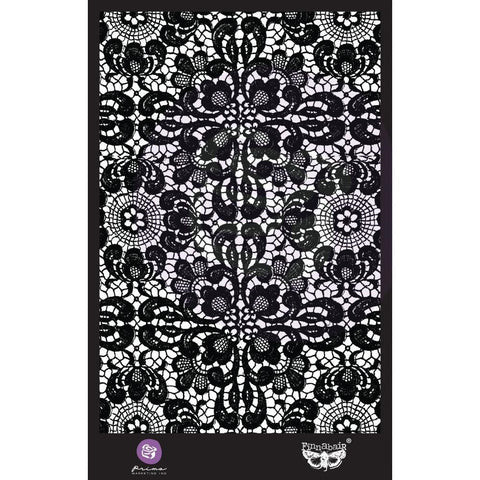 Prima Marketing Finnabair Stencil 6x9inch - Ornate Lace