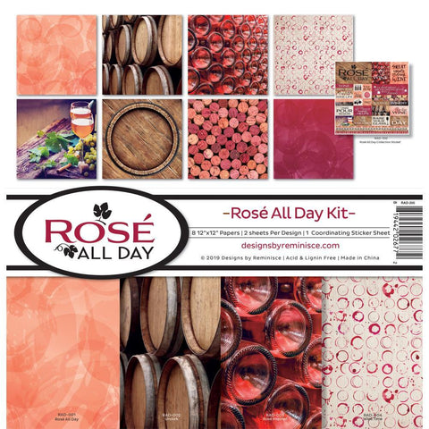 Reminisce Collection Kit 12x2 inch - Rose All Day