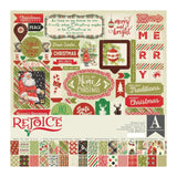 Authentique - Collection Kit 12 inches X12 inches - Rejoice, Essentials