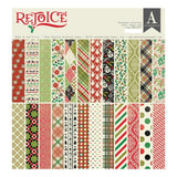 Authentique D/Sided Cardstock Pad 12x12 inch  24 pack - Rejoice