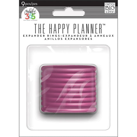 Me & My Big Ideas - Happy Planner Discs 1.75 inch 9 pack Pink 1.75 inch