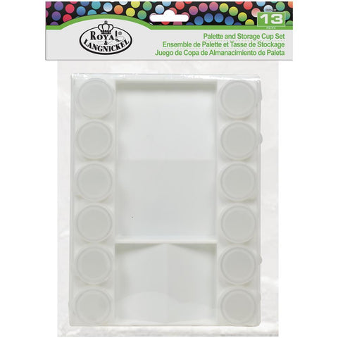 Royal Brush Palette & Storage Cups