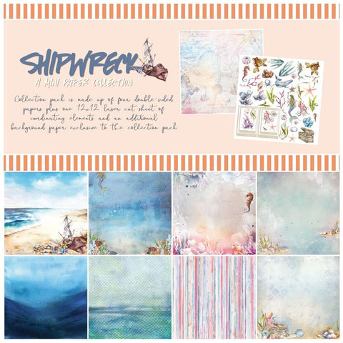 49 And Market - Collection Pack 12 inch X12 inch - Shipwreck