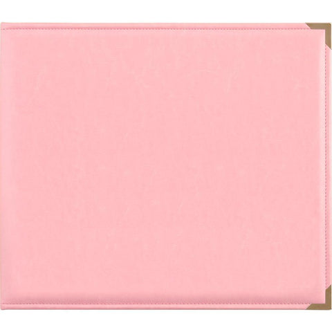 Kaisercraft - D-Ring Album Leather - Pink - 12x12 inch