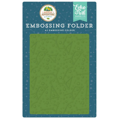Echo Park Embossing Folder A2 - Constellations