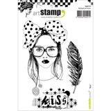 Carabelle Studio Cling Stamp A6 - Kiss