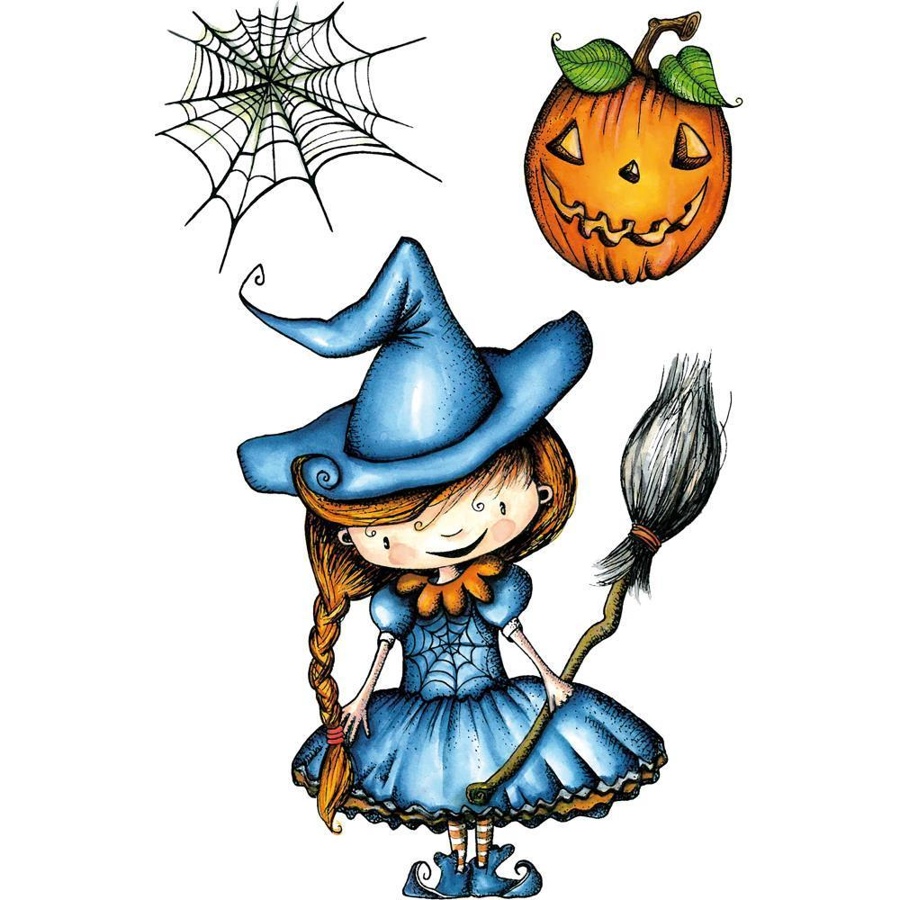 Carabelle Studio Cling Stamp A6 - A Pretty Witch