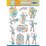Find It Trading Yvonne Creations Punchout Sheet - Party Together, Active Life