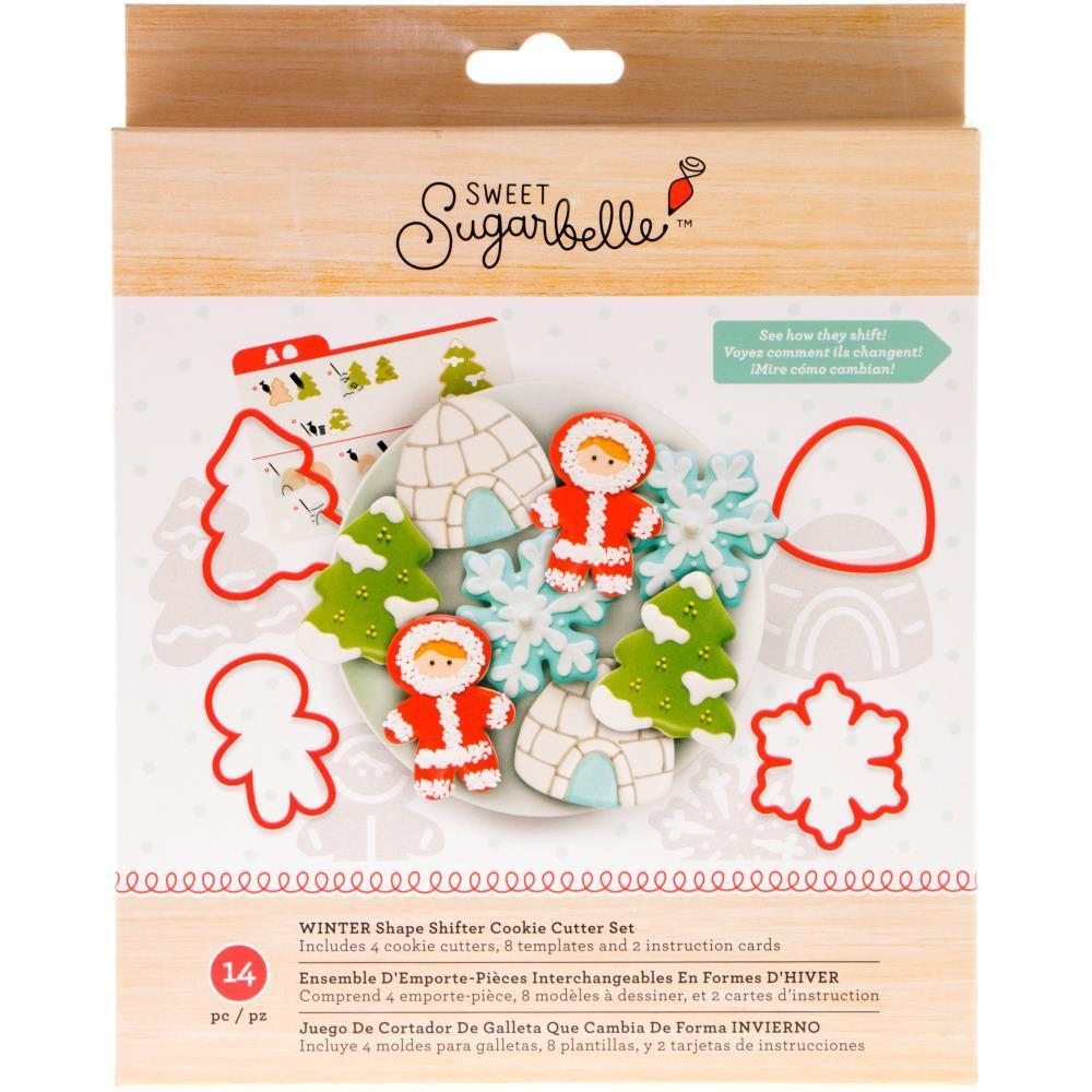 American Crafts Sweet Sugarbelle - Cookie Cutter Set 14 Pk - Winter