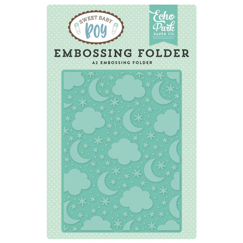 Echo Park Embossing Folder A2 - Sleep Tight