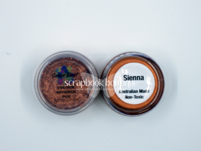 Colour Blast - Colour Shimmer Watercolour - Sienna