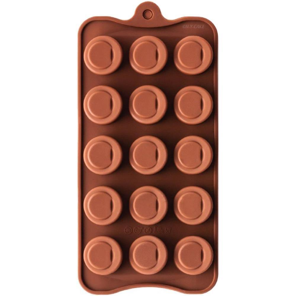 NY Cake Silicone Chocolate Mold - Sloped Cylinder