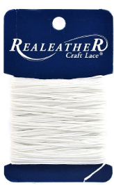 Waxed Thread 25yd White