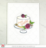 Avery Elle Clear Stamp Set 4 inch X6 inch - Cake For All