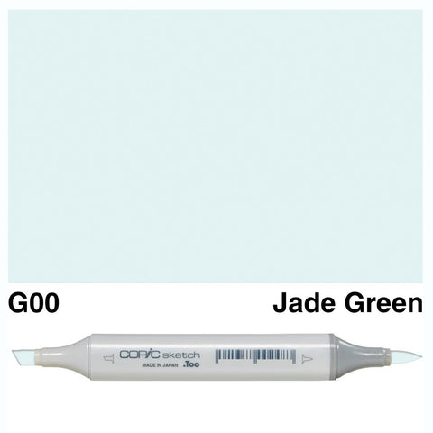 Copic Sketch Marker Pen G00 - Jade Green