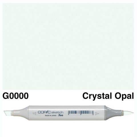 Copic Sketch Marker Pen G0000 - Crystal Opal