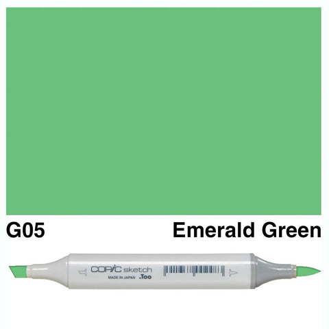 Copic Sketch Marker Pen G05 - Emerald Green