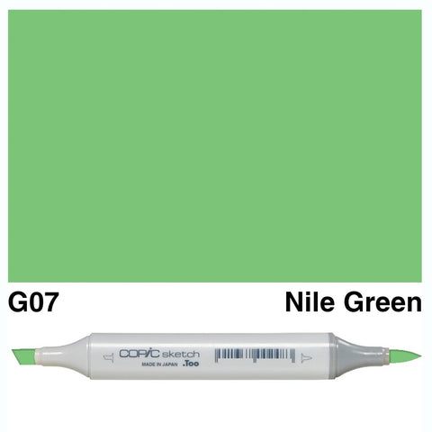 Copic Sketch Marker Pen G07 - Nile Green