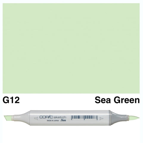 Copic Sketch Marker Pen G12 - Sea Green