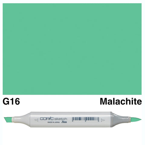 Copic Sketch Marker Pen G16 - Malachite