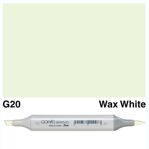 Copic Sketch Marker Pen G20 - Wax White