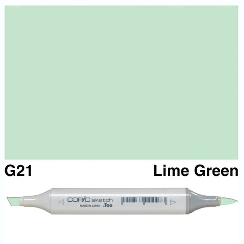Copic Sketch Marker Pen G21 - Lime Green