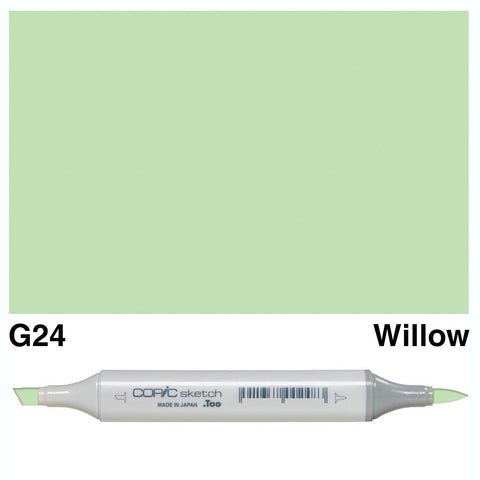 Copic Sketch Marker Pen G24 - Willow