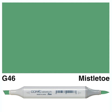 Copic Sketch Marker Pen G46 - Mistletoe