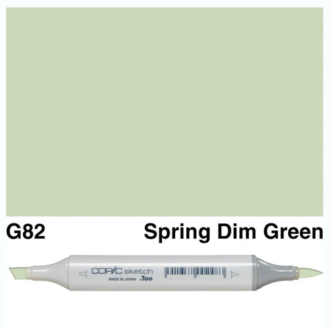 Copic Sketch Marker Pen G82 - Spring Dim Green