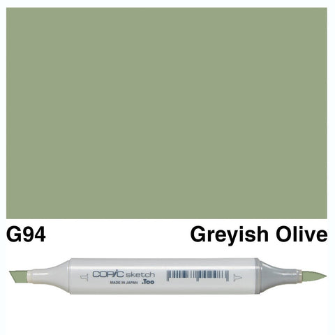 Copic Sketch Marker Pen G94 - Grayish Olive
