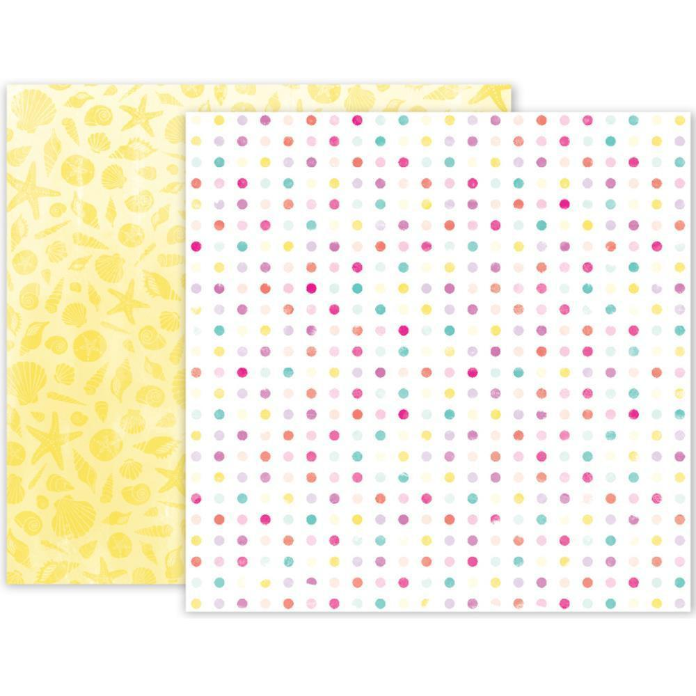 Pink Paislee Summer Lights Double-Sided Cardstock 12 inch X12 inch - #03