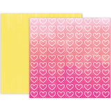 Pink Paislee Summer Lights Double-Sided Cardstock 12 inch X12 inch - #11