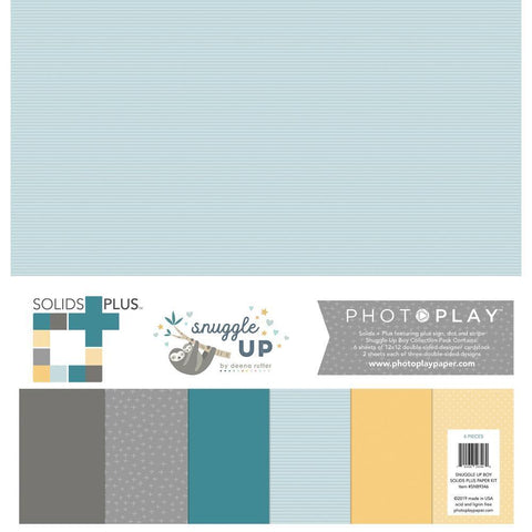 PhotoPlay Collection Pack 12x12inch - Snuggle Up Boy