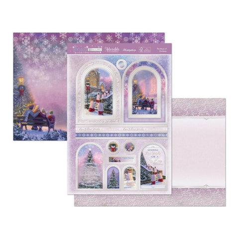 Hunkydory Snow Is Falling Luxury A4 Topper Set - The Magic Of Christmas