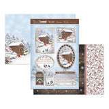 Hunkydory Snow Is Falling Luxury A4 Topper Set - Winters Garden
