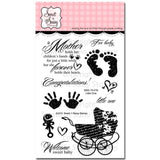 Sweet n Sassy Clear Stamps 4 inch X6 inch Little One