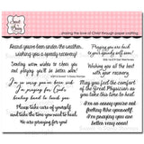 Sweet n Sassy Clear Stamps 4 inch X6 inch Get Well Winnies
