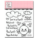 Sweet n Sassy Clear Stamps 4 inch X4 inch How Tweet