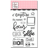 Sweet n Sassy Clear Stamps 4 inch X6 inch Capture This Moment