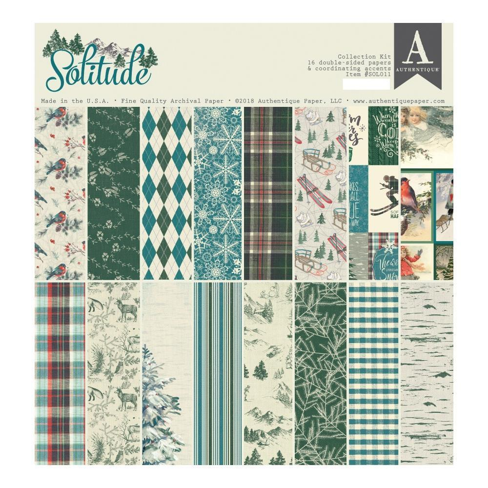 Authentique Collection Kit 12x12 inch - Solitude