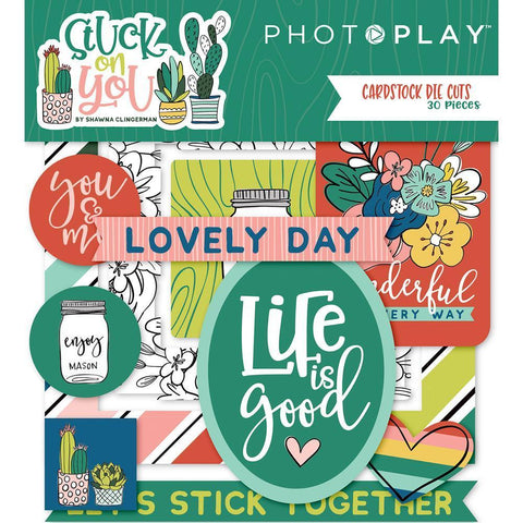 PhotoPlay - Stuck On You - Ephemera Cardstock Die-Cuts 30/ pack