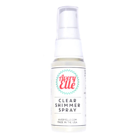 Avery Elle - Shimmer Spray 1oz - Clear
