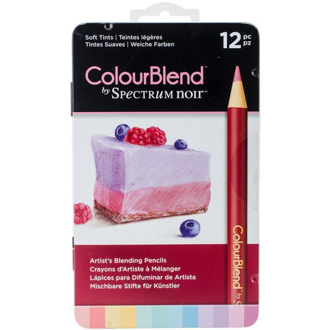 Spectrum Noir ColourBlend Pencils Soft Tints 12 pack