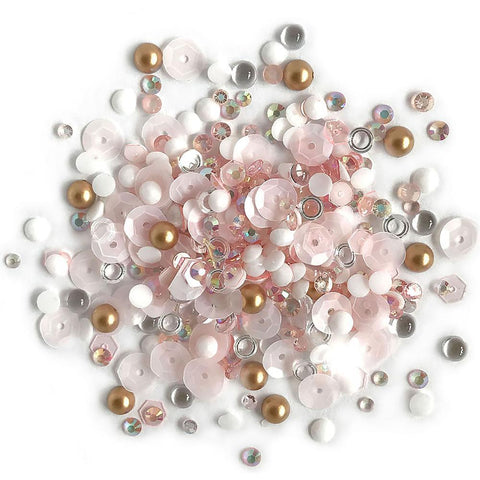 Buttons Galore - Sparkletz Embellishment Pack 10g - Coral Coast