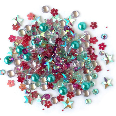 Buttons Galore - Sparkletz Embellishment Pack 10g - Aloha