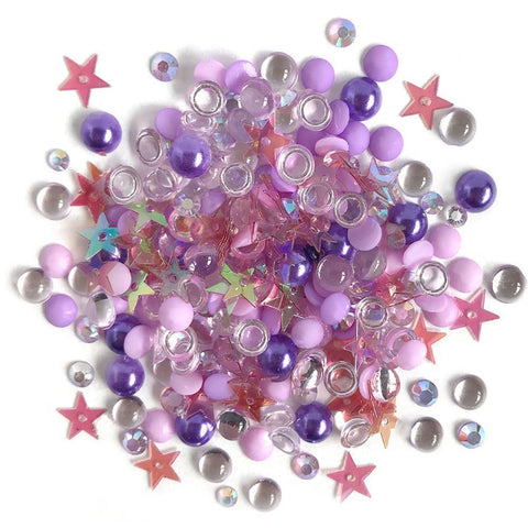 Buttons Galore - Sparkletz Embellishment Pack 10g - Jelly Fish