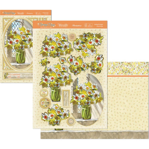 Hunkydory Spring Days A4 Decoupage Set - Daffodil Delight
