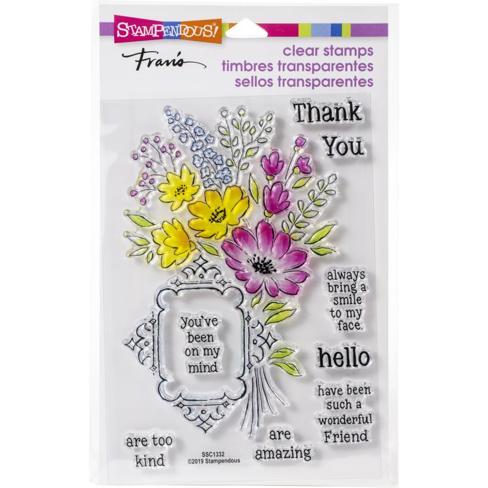 Stampendous Perfectly Clear Stamps - Floral Frame