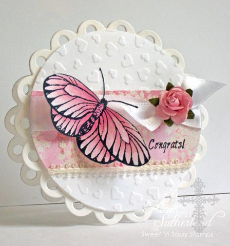 Sweet n Sassy Clear Stamps 4 inch X4 inch Everyday Miracles
