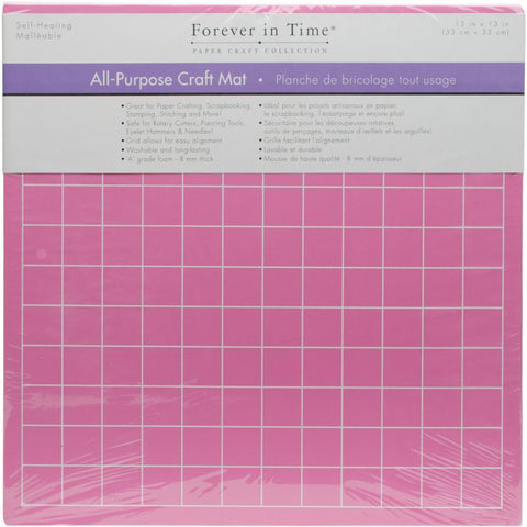 Multicraft Imports - All-Purpose Self-Healing Craft Mat Gridded 13x13x1/4 inch